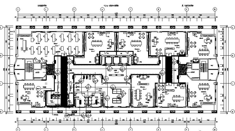 整套精典创意亚洲办公空间设计施工图(附效果图+材料表)