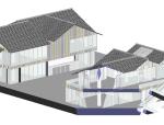 [成都]远洋太古里建筑SU模型