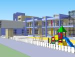 幼儿园教学楼设计方案SU模型
