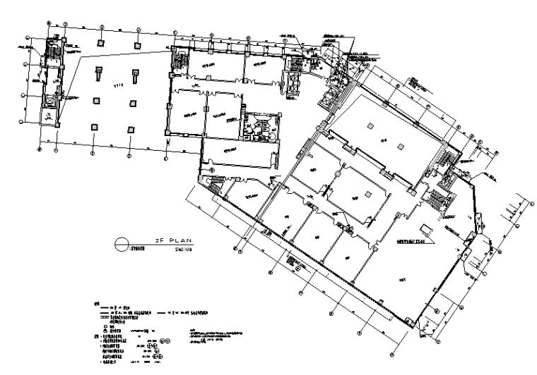 7500平米公寓酒店设计施工图(附效果图)_1
