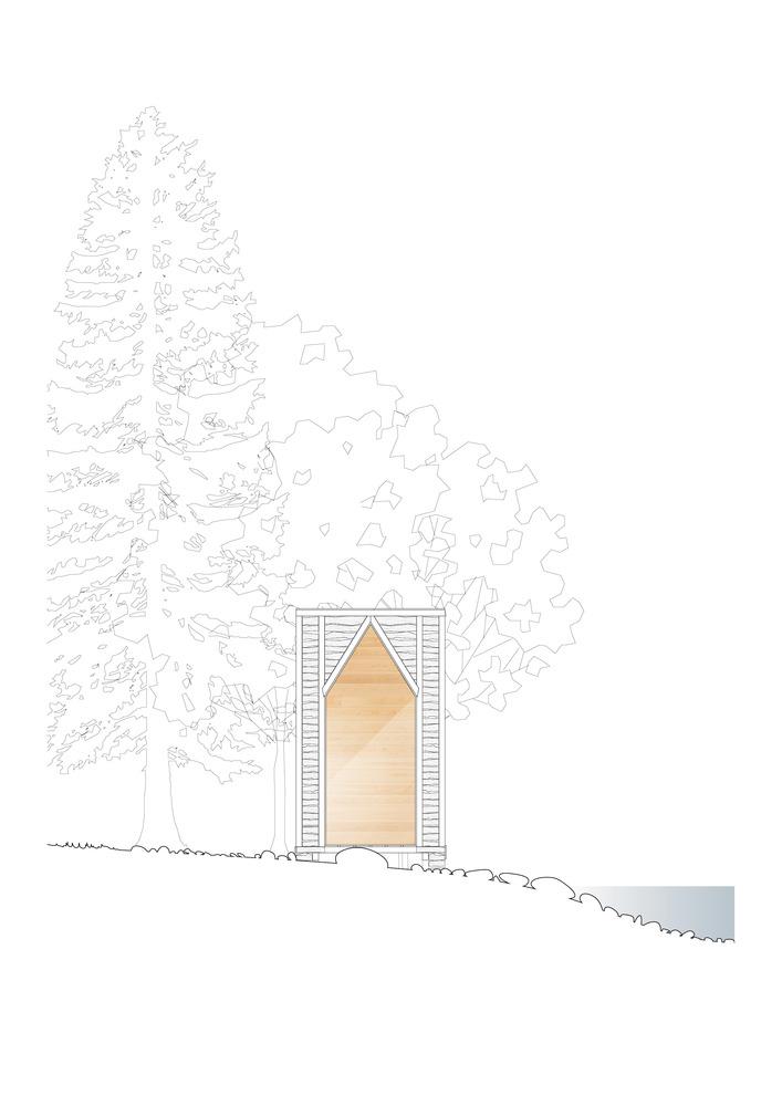 法国木堆积木小屋-10