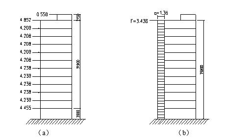 高層框架-剪力墻結構住宅樓結構設計計算書(word,109頁)_2