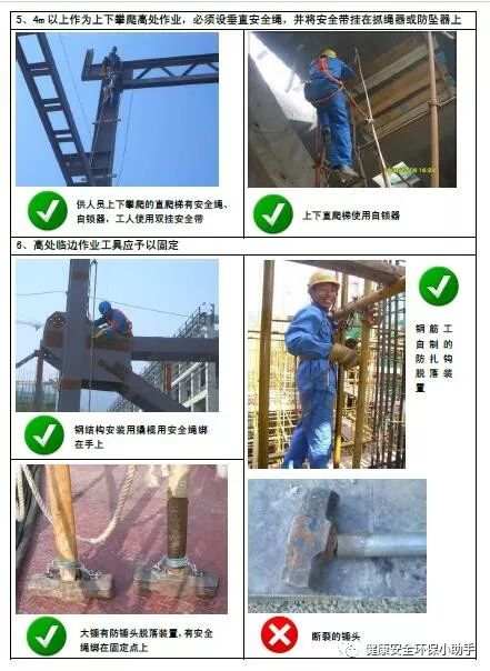 一整套工程现场安全标准图册:我给满分!_22