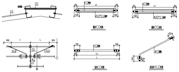 63×180门式刚架厂房施工图(CAD,18张)_7