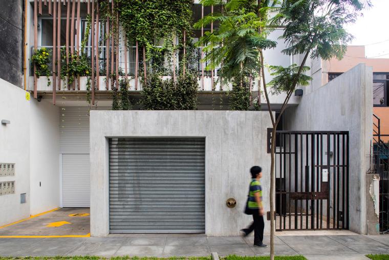 垂直森林打造绿意Madreselva公寓楼