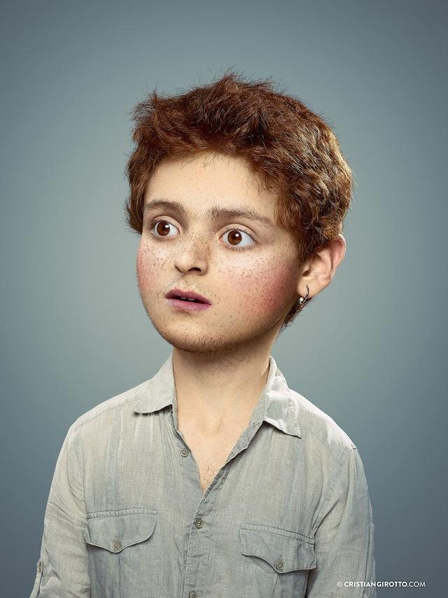法国数字艺术家CristianGirotto将成人还原成天真的孩子_19