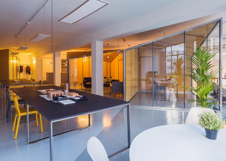 建筑师给自己设计的办公室,什么样的都有_11