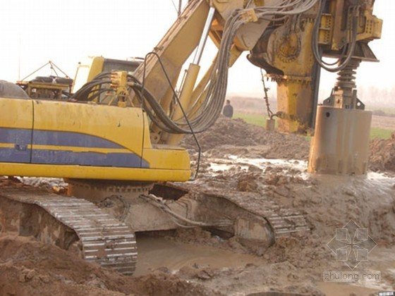 [河南]旋挖钻孔灌注桩专项施工方案(桩基后压浆)