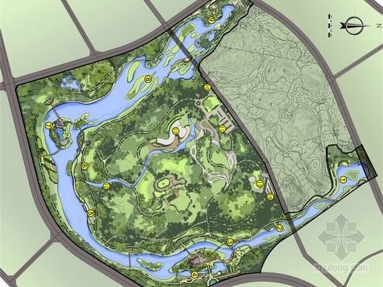 [贵州]滨水生态湿地公园景观规划设计方案