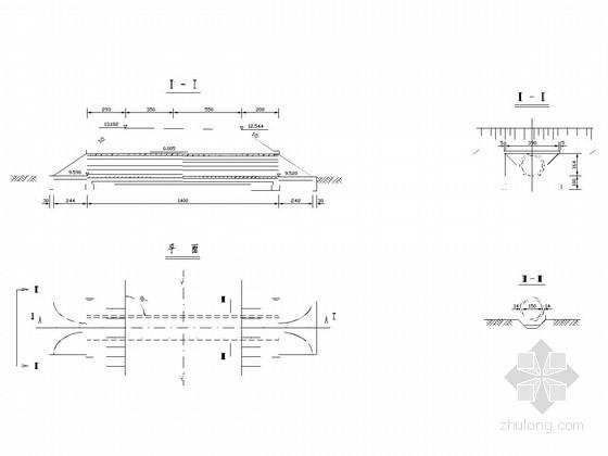 钢筋混凝土圆管涵设计图