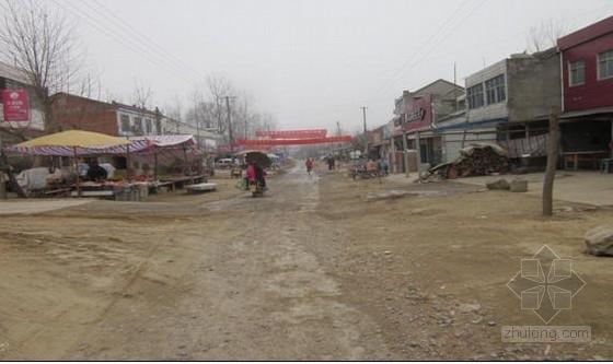 县道水泥混凝土路面拓宽补强设计图纸37张(级配碎石)