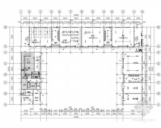 某幼儿园教学综合楼电气全套施工图(2016甲级院)