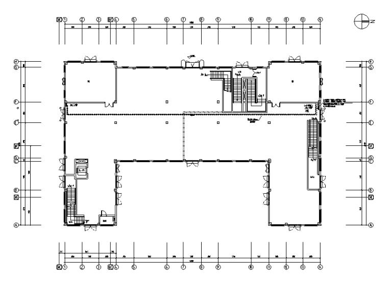 二層古建電氣施工圖(含火災報警設計)