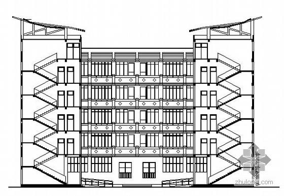 [祥芝镇]某五层小学建筑施工图
