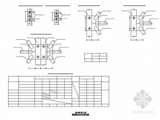 连续钢构特大桥主桥薄壁空心墩劲性骨架布置节点详图设计