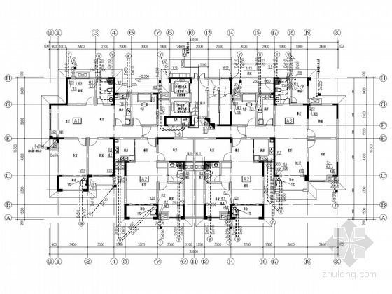 [安徽]十六层安置房给排水施工图