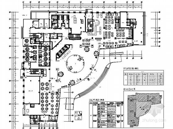 [广东]千年古郡典雅欧式五星级标准高级商务酒店装修施工图(含效果)