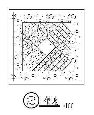某广场铺装详图-2