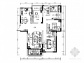 精品地中海风格三居室室内装修设计施工图(含效果)