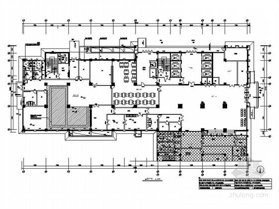 [江西]县级人民医院门诊医技大楼室内装修施工图