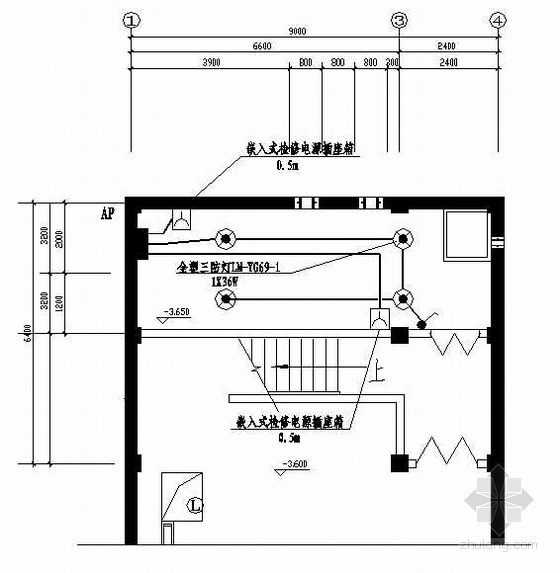 某泵房电气施工图