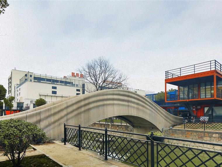 上海混凝土3D打印步行桥