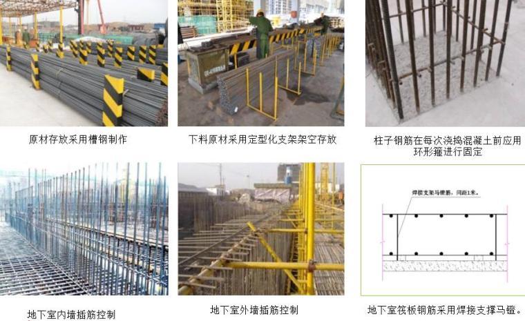 [海南]高层住宅及地下室工程项目管理策划书PPT(137页,图文并茂)-钢筋工程亮点做法