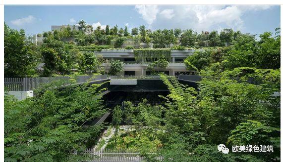 新加坡8个经典绿色建筑