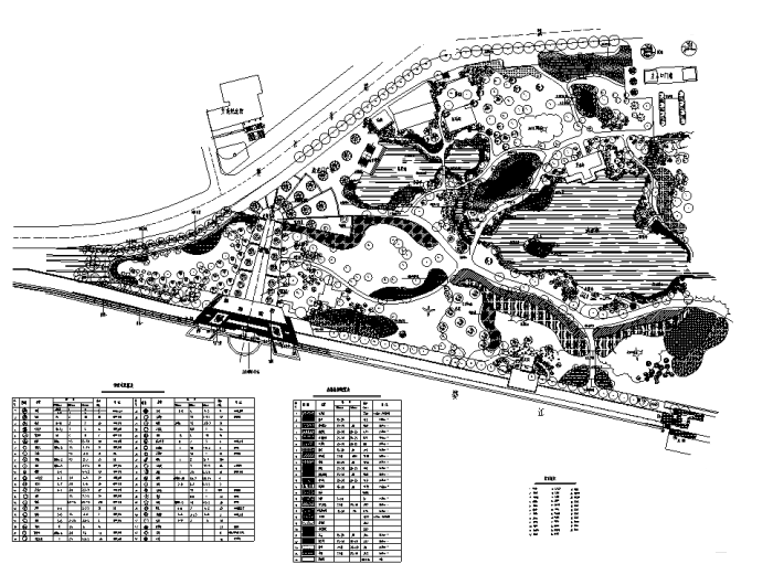 免费下载!346套园林绿地景观设计CAD图(赠送CAD素材图库)_3