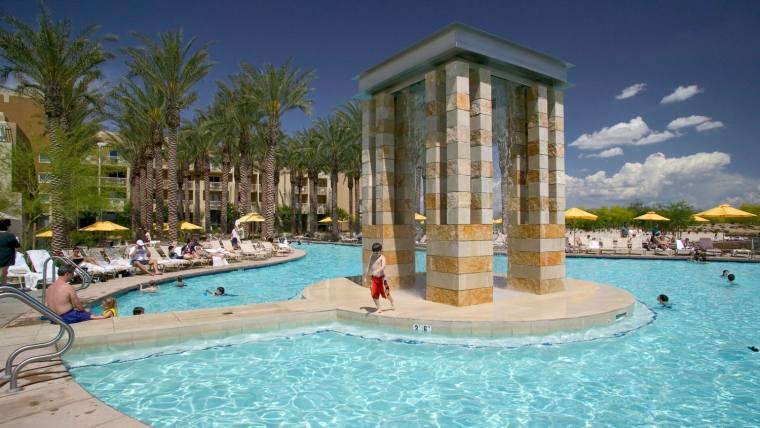 美国沙漠主题体育酒店-6