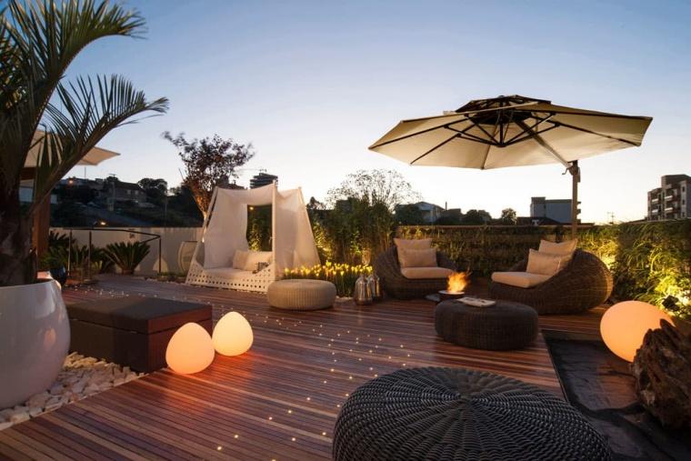 唯美浪漫的屋顶花园