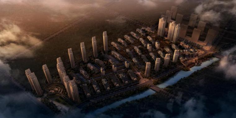 [沈阳]高层新中式风格高层住宅及花园洋房建筑设计方案文本