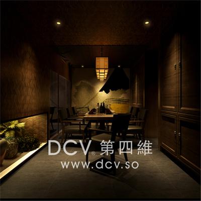 西安日式料理餐厅设计-惠舍.炉端烧_6