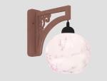 简单中式壁灯3D模型下载