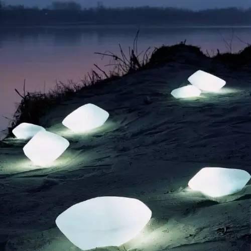 景观灯光设计。当灯光碰上景观,浪漫的夜晚就开始了!_38