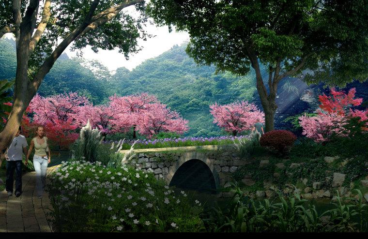 农旅景观:贵州云溪谷设计图_16