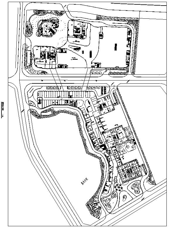 [重庆]国际化精英商务SOHO商业环境景观设计全套施工图(2017年最新)