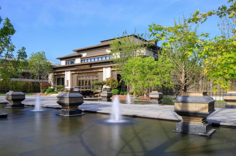 北京北科建泰禾丽春湖院子住宅景观