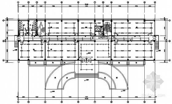 [威海]公司小件车间电气施工图纸