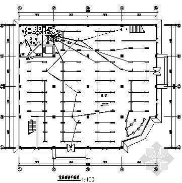 某四层展厅电气设计图