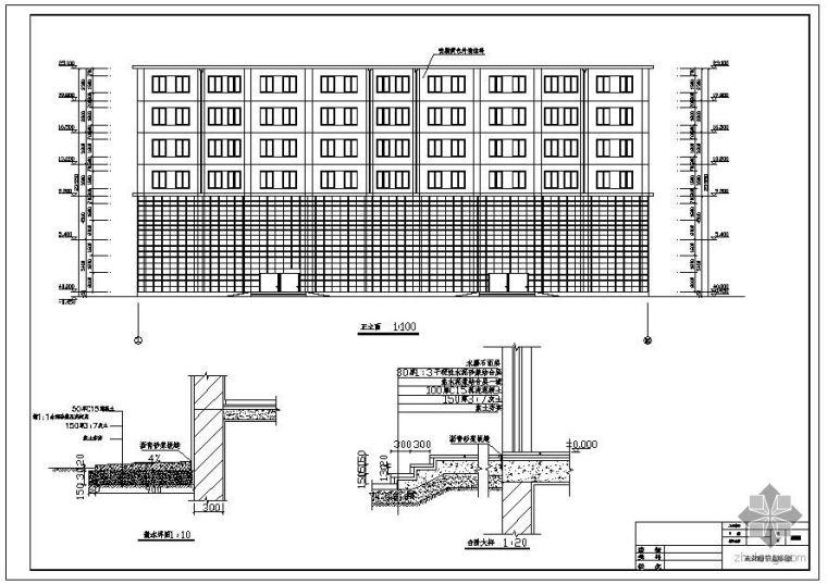 [学士]内蒙某商场工程楼毕业设计(含计算书、建筑结构设计图)