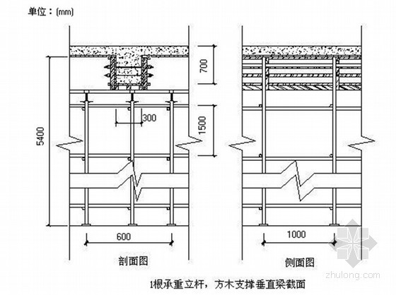 [广东]框架剪力墙结构住宅楼高大模板施工方案(附计算)