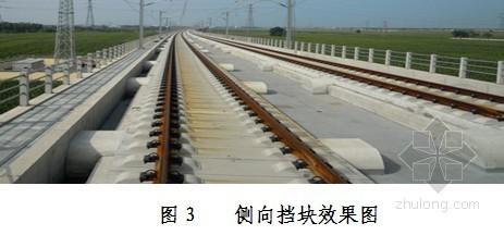 宁杭客运专线无砟轨道侧向挡块施工方案