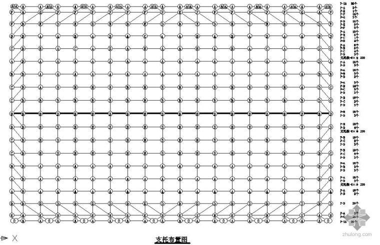 钢结构节点精选之网架支座节点