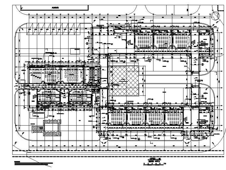 [浙江]五层长条形面砖外墙市级中学建筑施工图(含效果图)_3