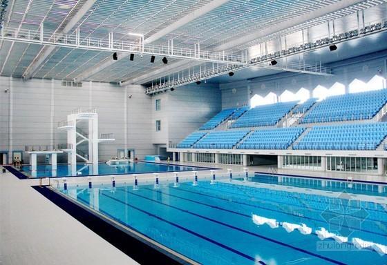 儿童滑梯施工组织方案资料下载-[江苏]奥体游泳馆施工组织设计