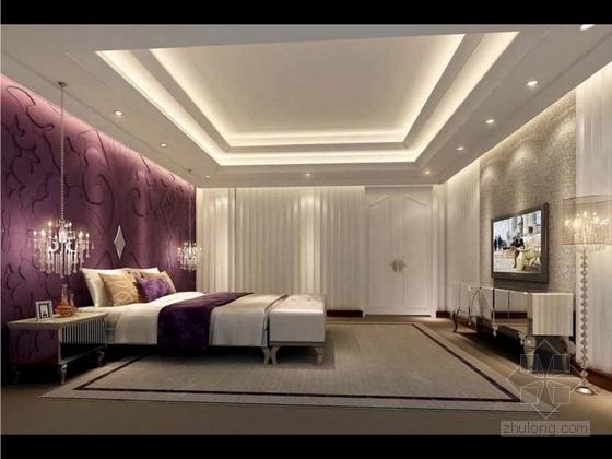 [成都]经典豪华三层别墅样板间室内装修图(含方案文本) 效果