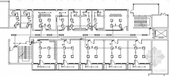 某三层妇幼保健院装修电气图纸