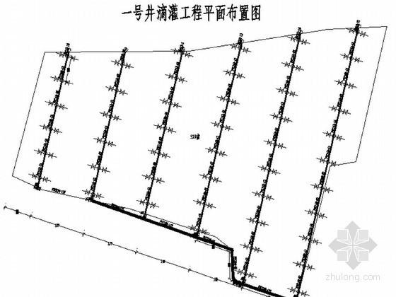井滴灌工程节点CAD图74张(2013年)