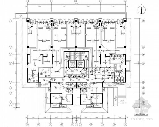 [陕西]30层住宅楼电气施工图(甲级院最新设计)